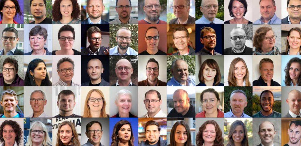 Headshot collage of the EuroSTAR 2019 speakers